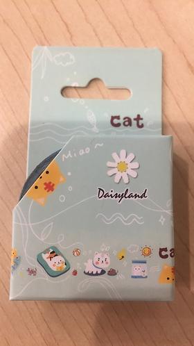 Cat Washi Tape (Beach)