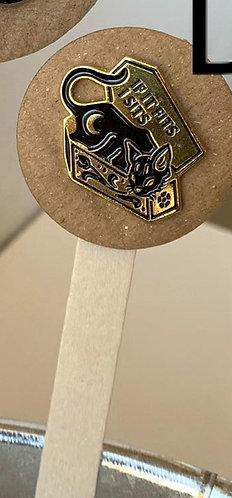 Metal Pin (Coffin)