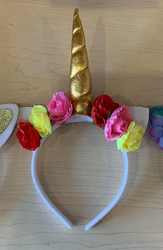Catnicorn Headband (White and Multi)