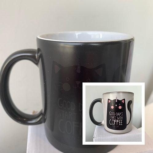 Colour Changing Mug (Coffee)