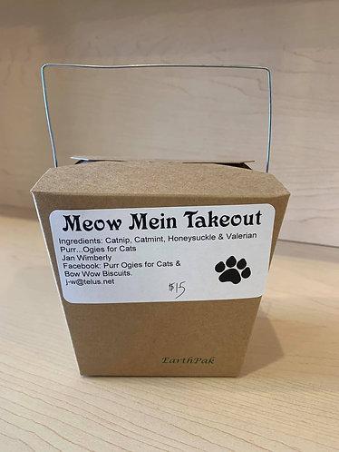 Meow Mein Takeout Box