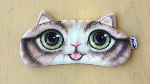 Sleep Mask Gel-filled (Brown Cat Mouth)