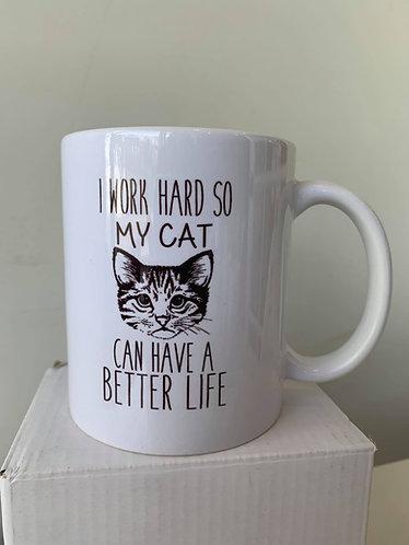 Mug (work hard)