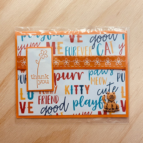 Locally hand-made card