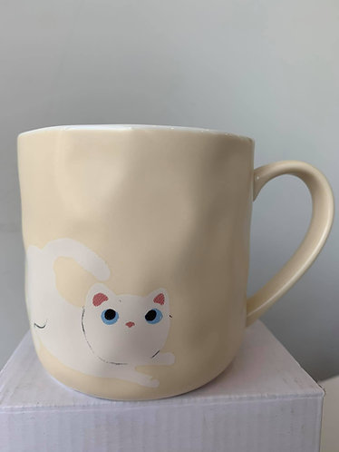 Mug (Cream Dimpled)