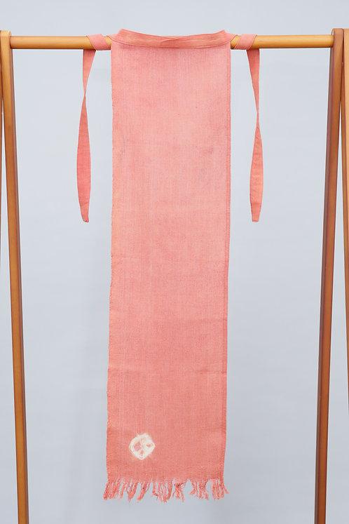 ふんどし(麻100%)インド茜・ミロバラン・ルバーブ 30cm×90cm