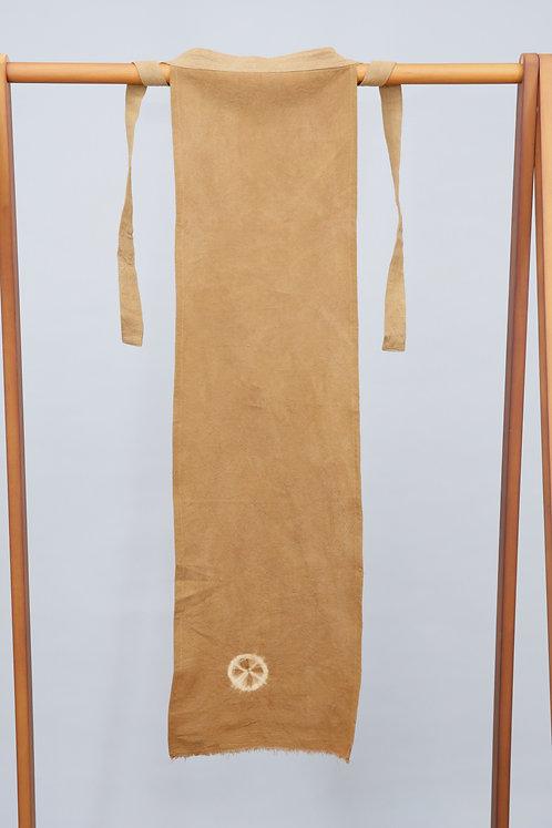 ふんどし(麻60%,綿40%)インド茜・ルバーブ 30cm×90cm