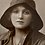 Thumbnail: Hand-painted Postcard of Gladys Cooper