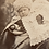 Thumbnail: Victorian Baby with Opulent Shawl & Bonnet
