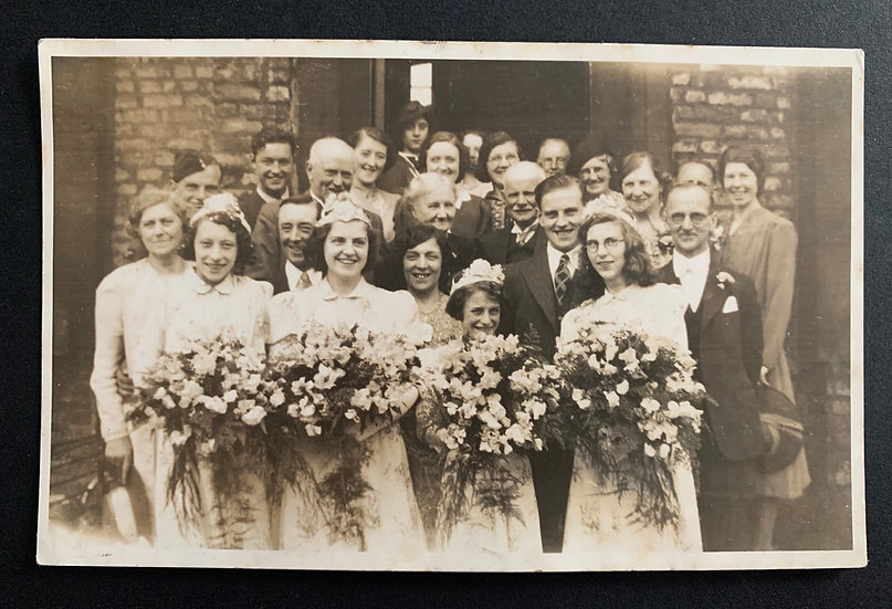 c1940s Wedding Portrait