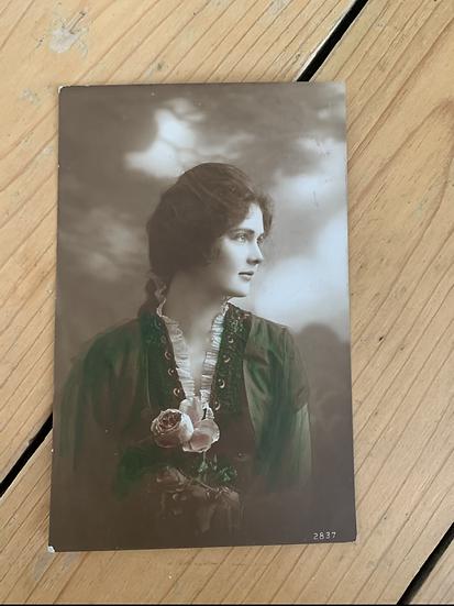 1918 Real Photo Postcard
