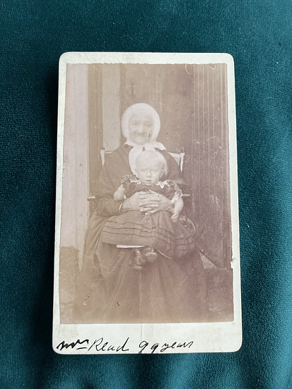 99 Year Old Mrs Read CDV