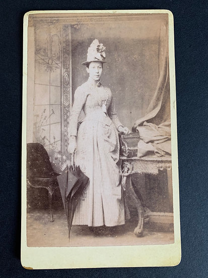 Victorian Lady in a large hat