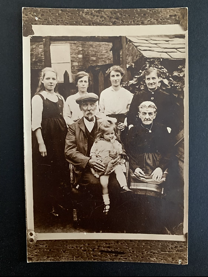 Family full of character Postcard
