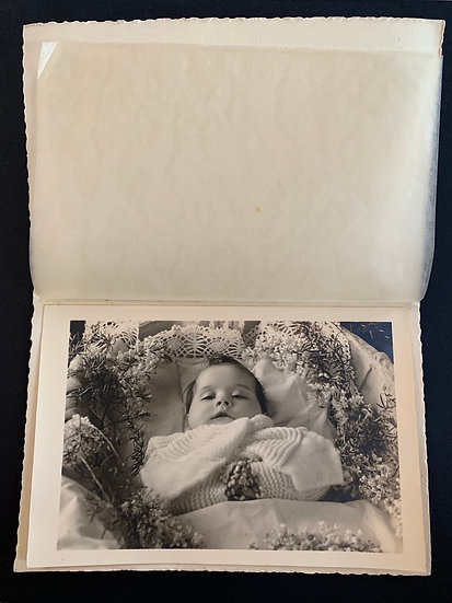 Post Mortem Child - Photo in Protective Sleeve