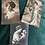 Thumbnail: 11 x European Print Art Nouveau Postcards