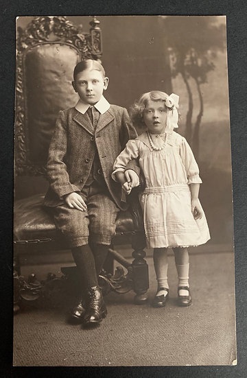 Early Edwardian Brother & Sister