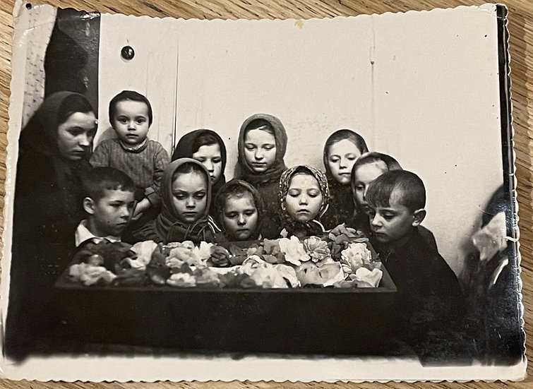Children with Post Mortem Baby Snapshot
