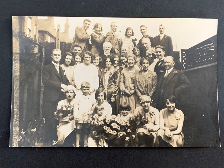 Lovely 1920s Group Postcard