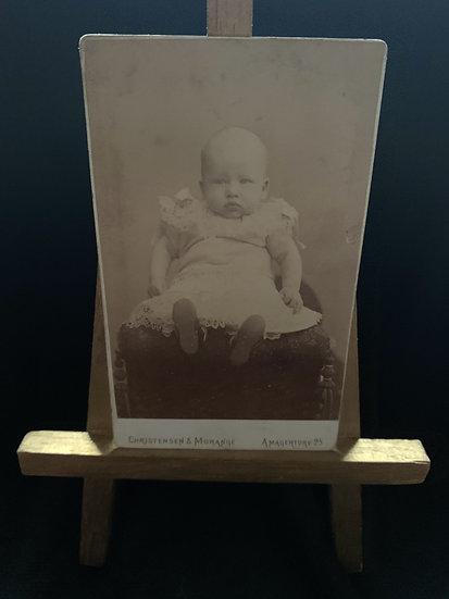 Scandinavian Baby likely Hidden Mother