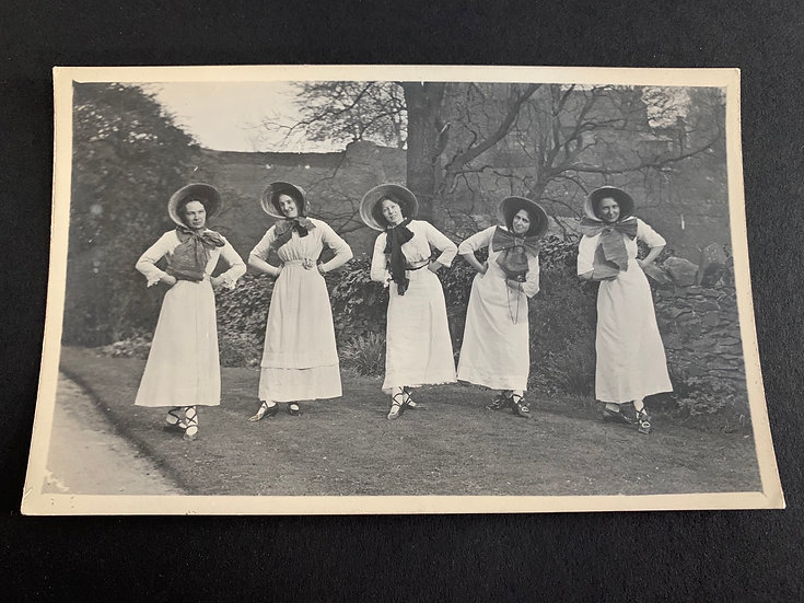 Traditional Ladies Posing, possible dancers?