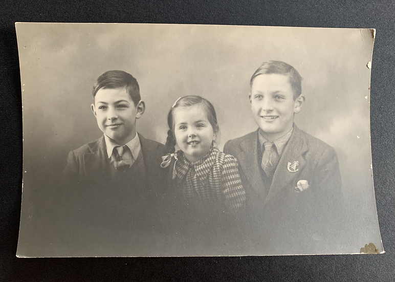 Family Portrait Postcard