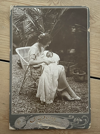 1922 Cabinet Card - Vietnam (Saigon)