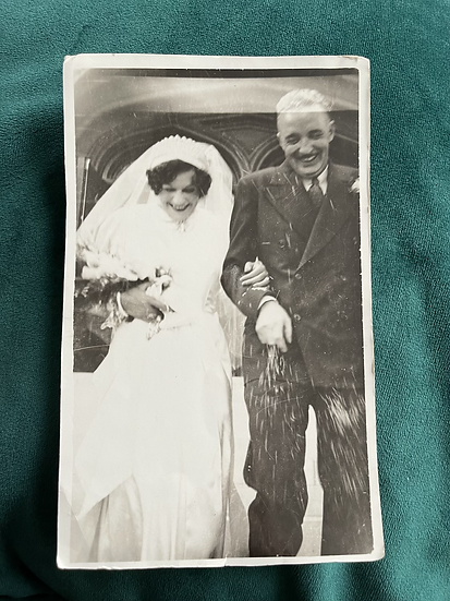 1938 Wedding Photograph