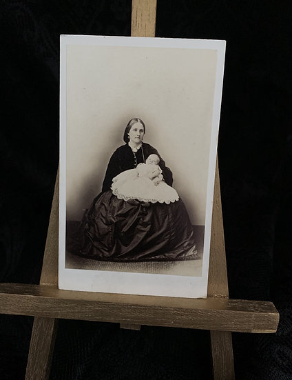 Mother in Black - Likely Post Mortem Baby
