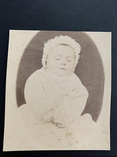 Post Mortem Photo circa 1870
