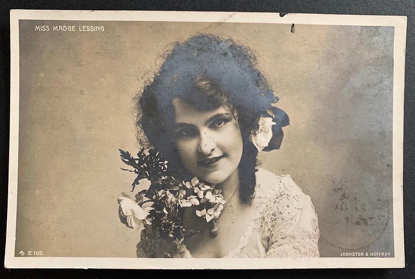 Lovely Art Nouveau style Postcard 1906