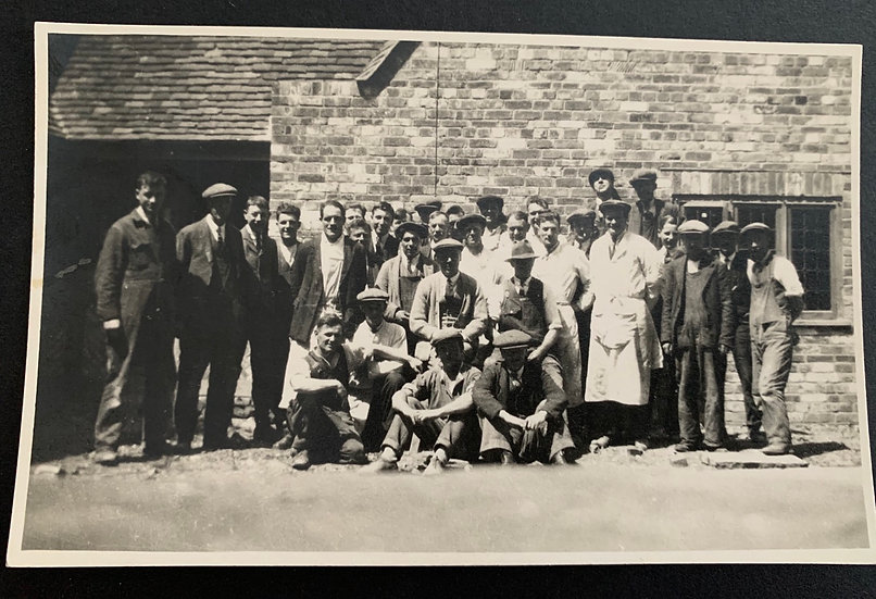 Manual Workers Group Photo