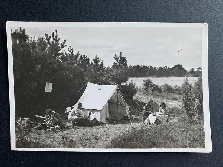 European c1940s Camping Scene