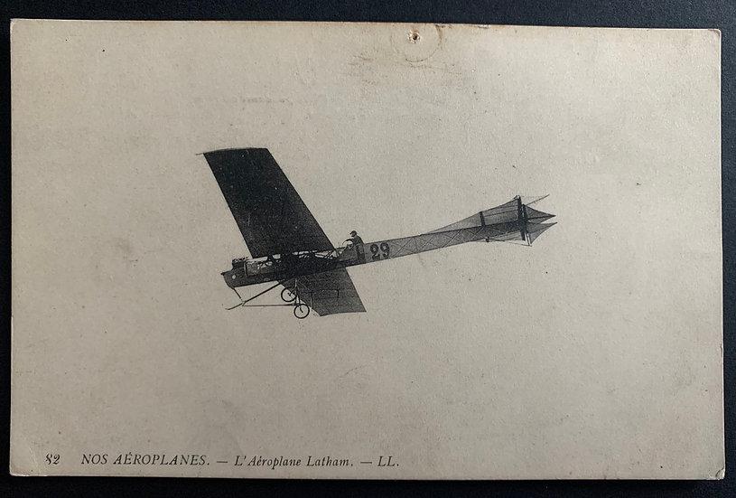 """""""Nos Aeroplanes"""" Postcard"""