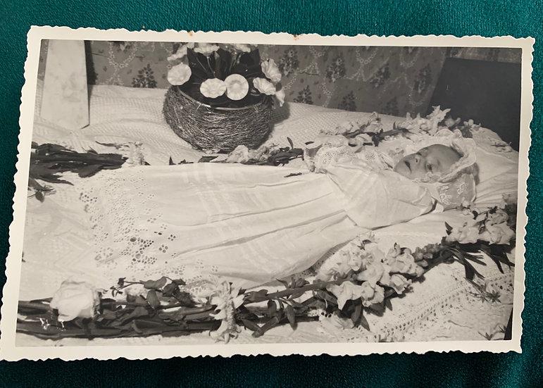 French Post Mortem Baby c1920s