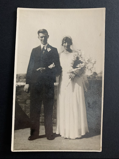 Gladys & Charlie 1932 Wedding