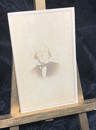 CDV of a Creepy Victorian Gentleman