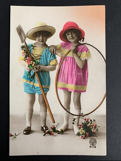 Heavily Tinted Postcard