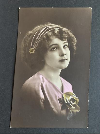 Prussia Hand Coloured Postcard 1913