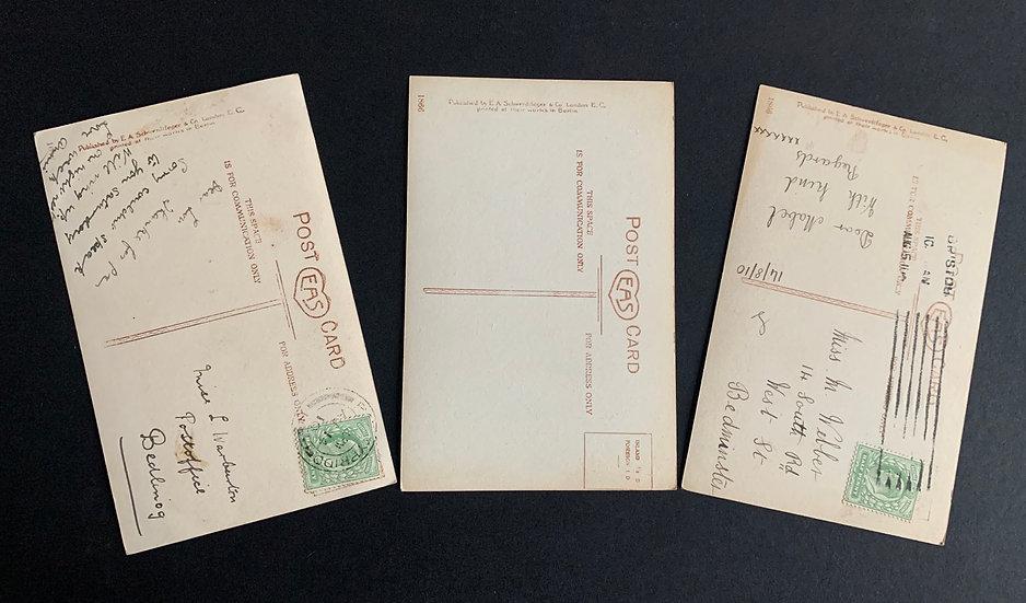3x Berlin Print Postcards