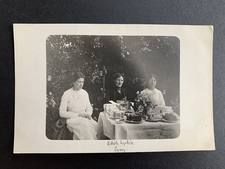 Edwardian ladies with Cadburys Chocolate