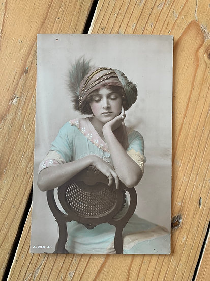 Rotary Photo of a Beautiful Lady