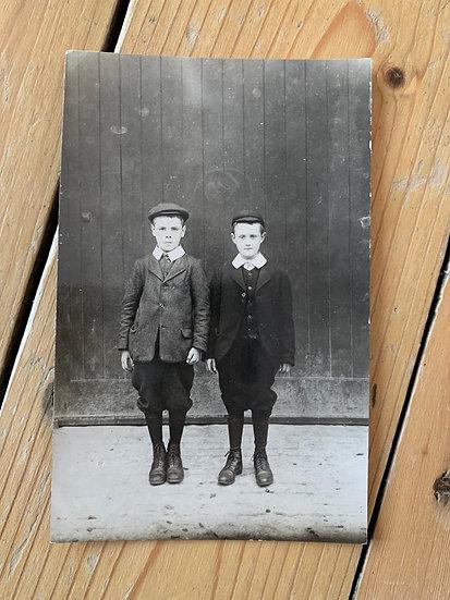 Smart Edwardian Boys