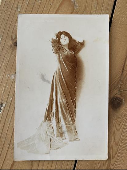 Art Nouveau Postcard 1908