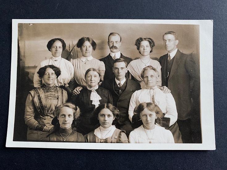 Intense Stares Group Portrait