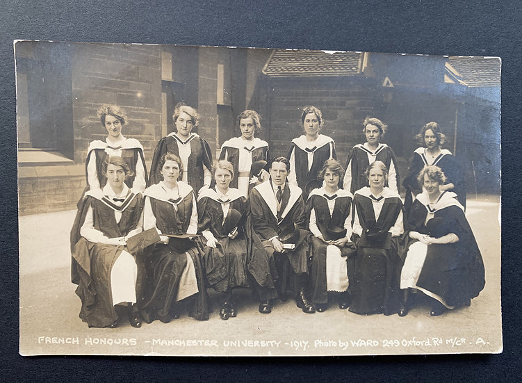 Manchester University French Honour Students 1917