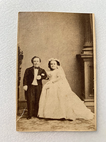P.T. Barnums Greatest Showman Tom Thumb - Wedding 1863