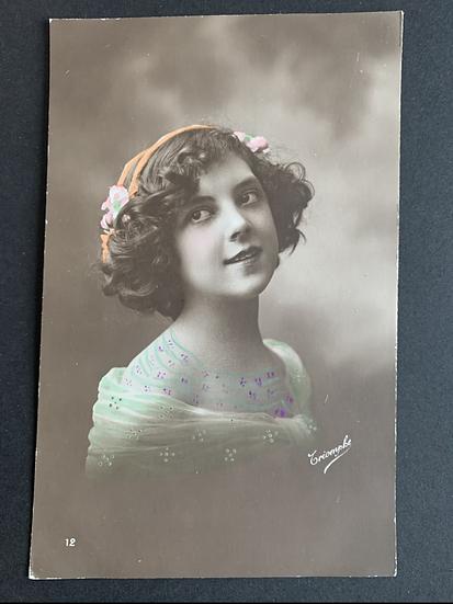 Triomphe Edwardian Postcard