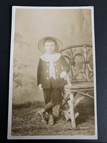 Edwardian Boy Portrait