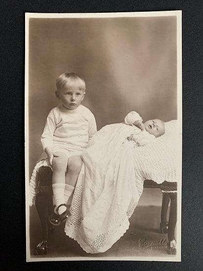 George & Henry 1931 Postcard